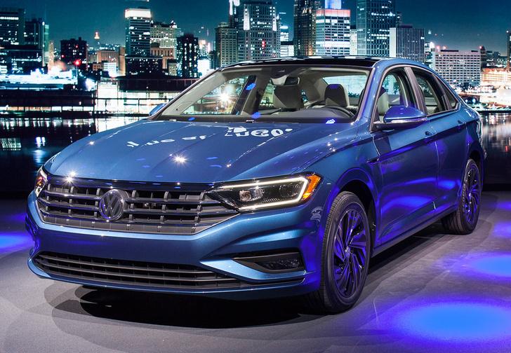 Фото №1 - Новый Volkswagen Jetta: жди в России через год