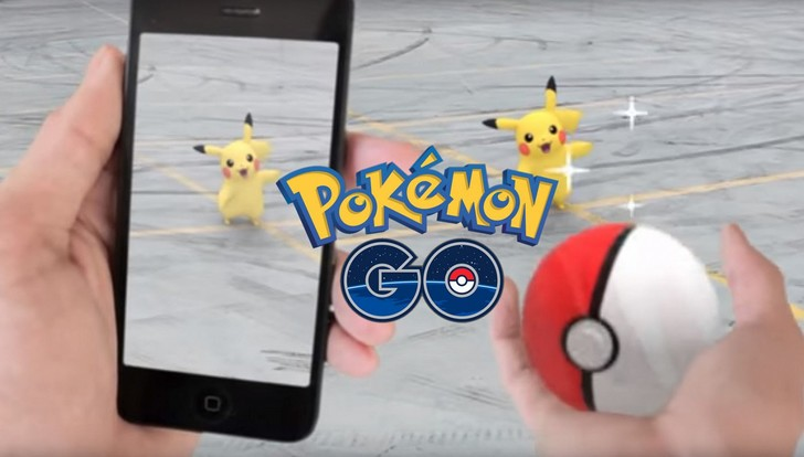 интересная игра Pokemon Go