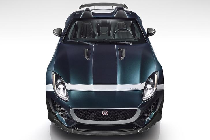 Фото №2 - Родстер Jaguar F-Type Project 7 — до первой сотни разгоняется всего за 3,9 секунды