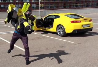 Русские блогеры угнали Chevrolet Camaro, чтобы снять своих «Трансформеров»