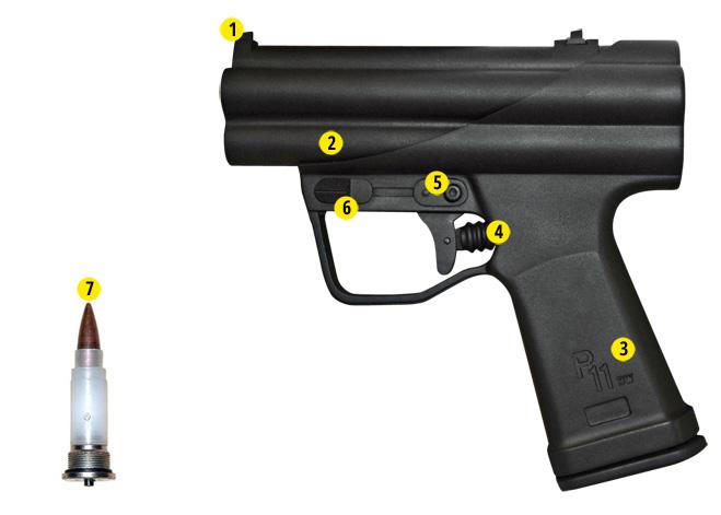 Пистолет подводный Heckler & Koch P11