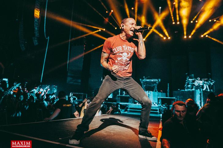 Фото №21 - Вопли рока. Что творилось на концерте Linkin Park