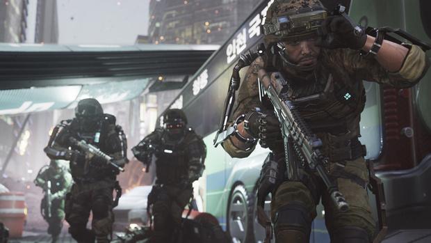 Фото №3 - Дежурство экзоскелетов. 5 причин ждать выхода новой игры Call of Duty: Advanced Warfare