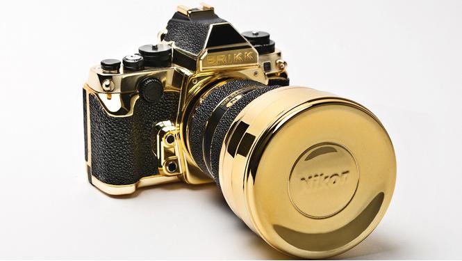 5 технологичных излишеств для богачей: золотой фотоаппарат, карманный принтер и другие чудеса прогресса
