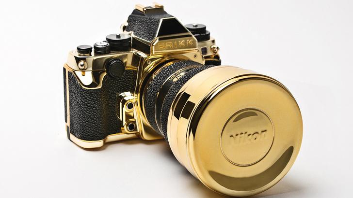 Фото №1 - 5 технологичных излишеств для богачей: золотой фотоаппарат, карманный принтер и другие чудеса прогресса