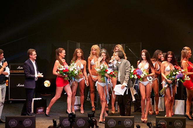 Вручение короны Miss MAXIM ВКонтакте 2016