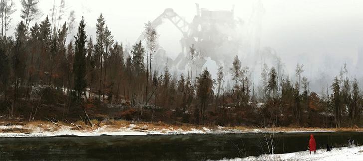 Фото №21 - Зловещая стимпанковская живопись с элементами славянского быта