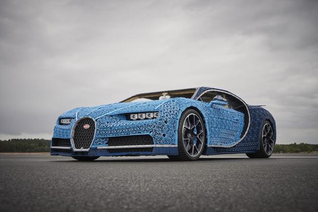 Фото №7 - Миллион деталей и десять месяцев: как собирали Bugatti Chiron из кубиков Lego