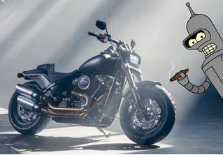 Кого-то этот новый Harley-Davidson нам напоминает…