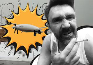 Шнур хлестко срифмовал про падение сколковского аэротакси в сугроб