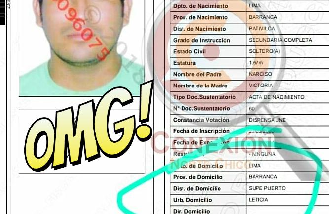 Фото №1 - Смешная подпись в паспорте сделала парня знаменитым!