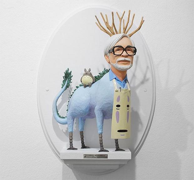 Фото №11 - Скульптор создает диковатые статуэтки знаменитых кинорежиссёров