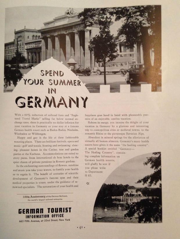 Фото №2 - Туризм по-нацистски: как Германия рекламировала себя миру в 1935 году