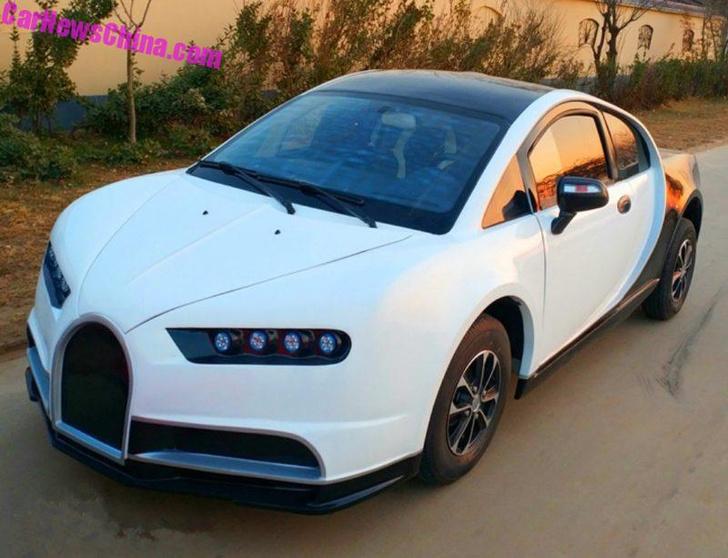 Фото №2 - Китайцы сделали копию Bugatti! И ее можно купить всего за 300 тысяч рублей!