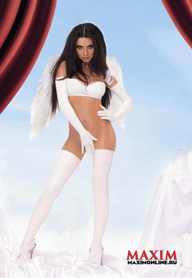 Анна Плетнёва разделась для журнала «Maxim» в третий раз