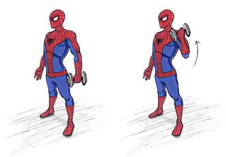 Тренируйся как Человек-паук: 4 упражнения, которые сделают из тебя супергероя