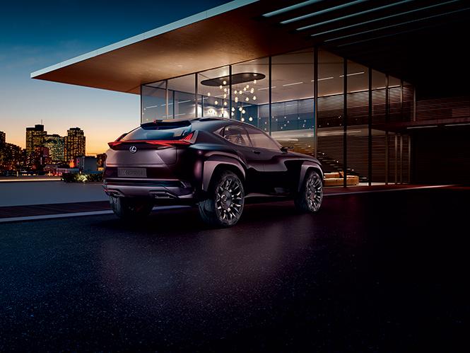 Фото №3 - Лексус «Икс»: Lexus показал концепт нового кроссовера