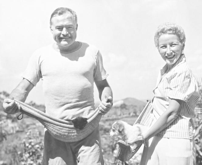 Хемингуэй и Мэри Уэлш
