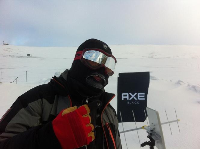 AXE Black представляет затмение