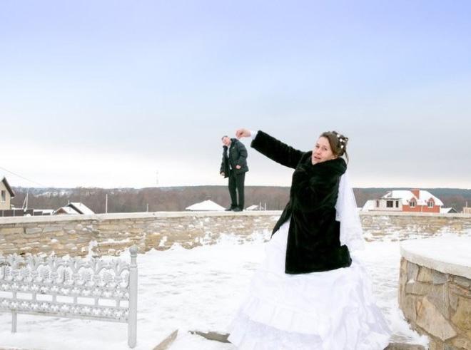 Фото №2 - 12 свадебных фотографий, которые не должны появиться в твоем альбоме!