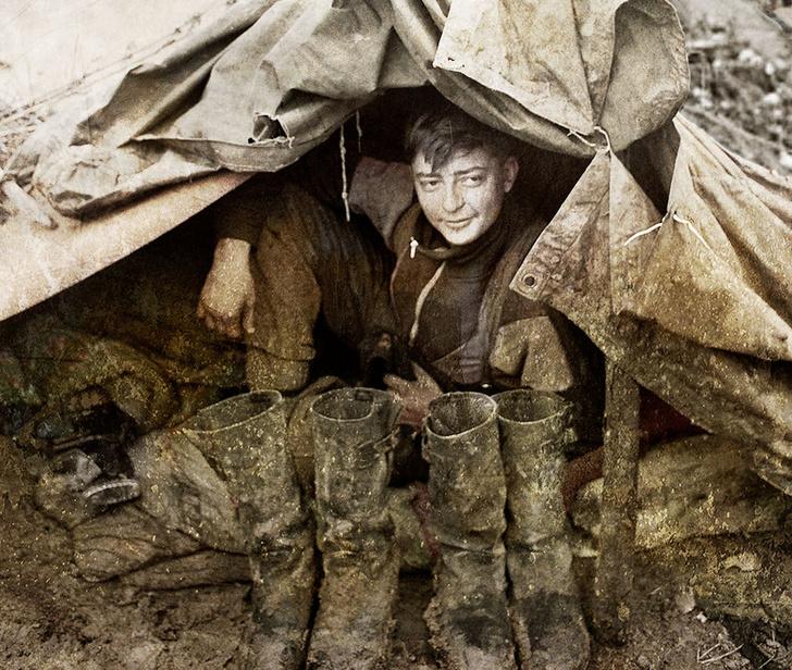 Фото №4 - Мясорубка для чайников: 25 советов по выживанию на войне, в плену и в тюрьме
