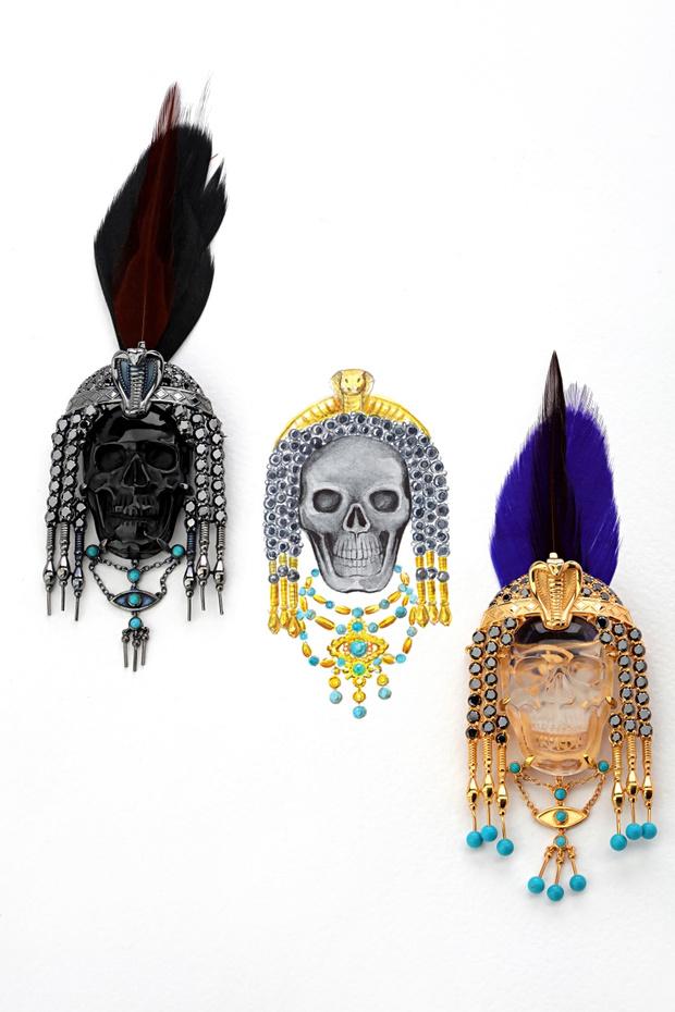Фото №2 - О женщинах и насекомых: неординарные украшения от Dzhanelli Jewellery
