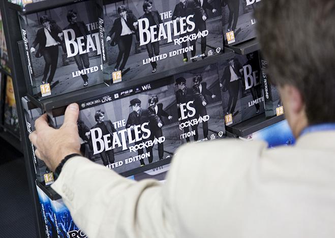 Цифровой ремастеринг альбомов The Beatles, Лондон