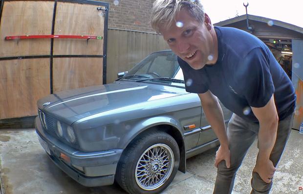 Фото №1 - Джакузи из старого BMW? Казалось бы, что тут такого…