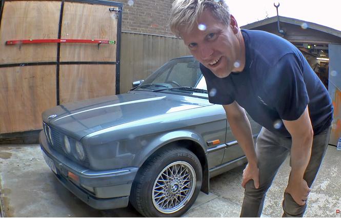 Джакузи из старого BMW? Казалось бы, что тут такого…