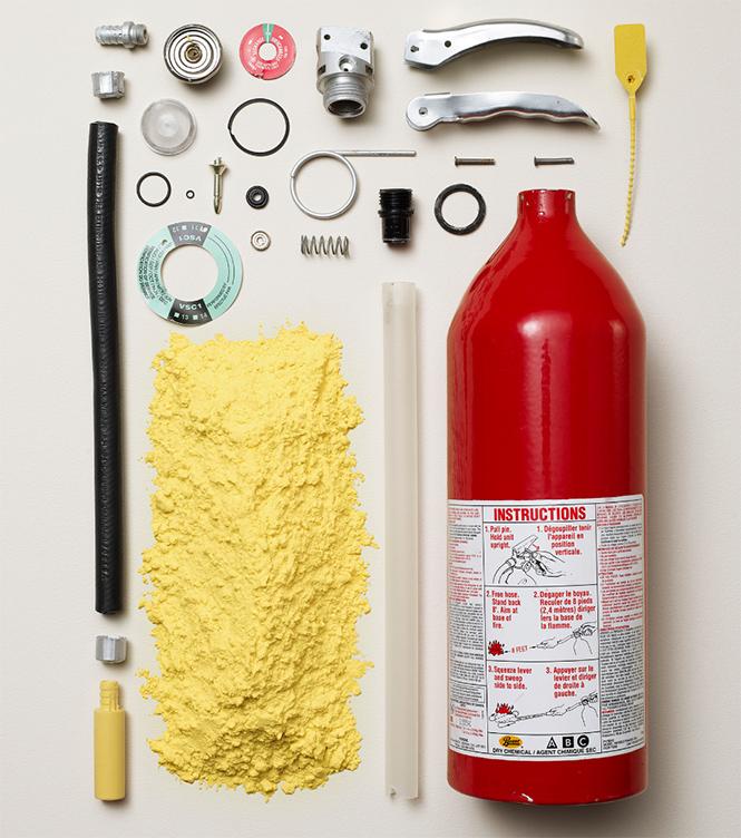 Фото №10 - 10 предметов, разобранных на части: от бензопилы до огнетушителя