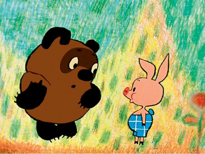 Детство,Винни-Пух,пятачок,олдскул,мультфильмы.,песочница.