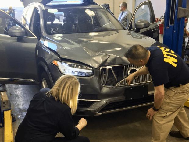 Фото №1 - Автомобиль на автопилоте Uber впервые сбил пешехода насмерть