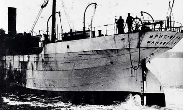 Французское грузовое судно «Монблан»