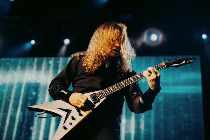 Фото №8 - Megadeth подняли температуру в Москве — посмотри и приобщись!