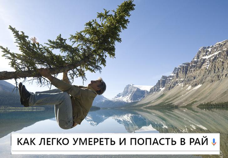 Фото №1 - Самые смешные запросы месяца и как попасть в рай