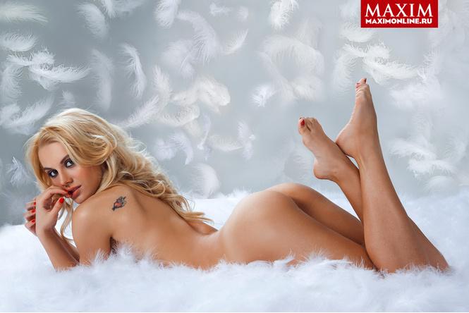 Лучшие фотосессии MAXIM 2013 года. Часть первая: Джоанна Крупа, Лена Катина, Наталья земцова и другие