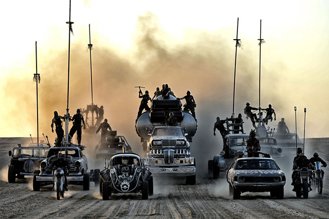 Безумный Макс: Дорога ярости - машины