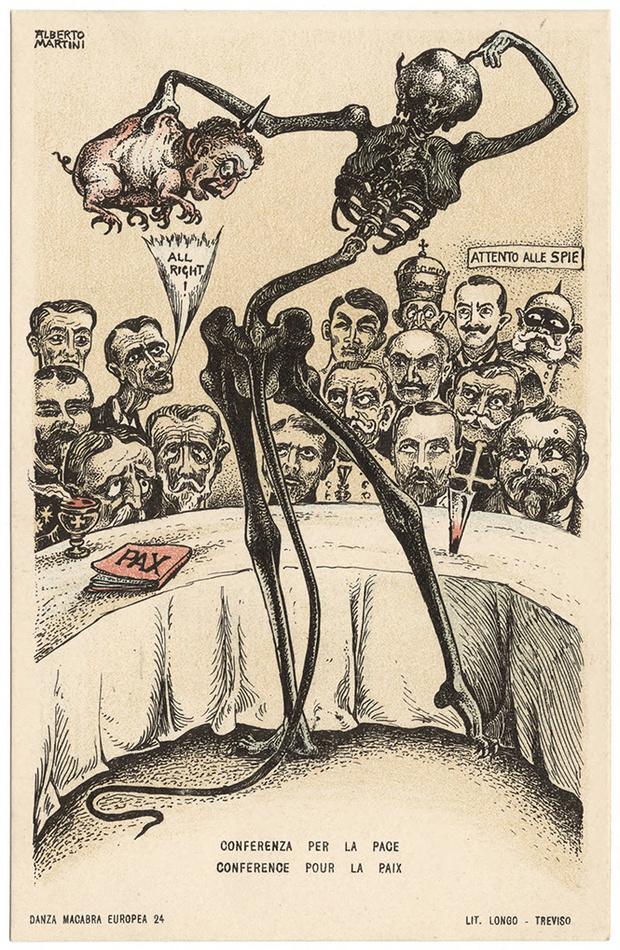 Фото №48 - Жутковатые карикатуры Первой мировой