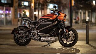 Как звучит электрический Harley-Davidson?