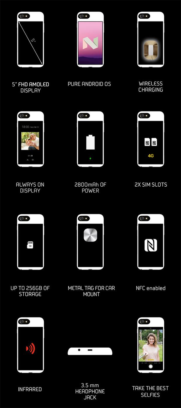 Фото №3 - Колдовство на грани кощунства: чехол, превращающий айфон в телефон-андроид