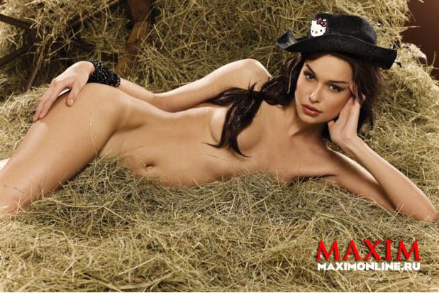 Катя Щербакова для Maxim