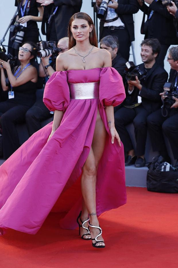 Фото №5 - На Венецианском фестивале модели пришли на премьеру без нижнего белья