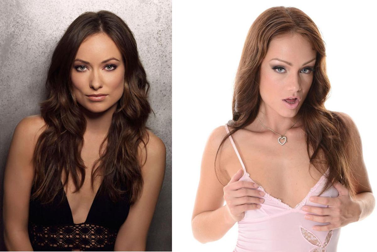 Актриси голивуда похожие на актрис порно