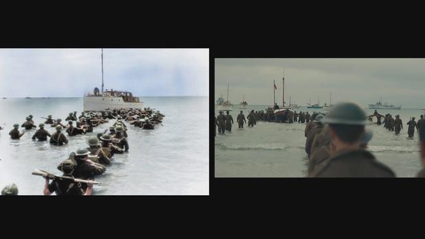 Фото №1 - Архивные кадры Второй мировой сравнили с видеорядом «Дюнкерка» (ВИДЕО)