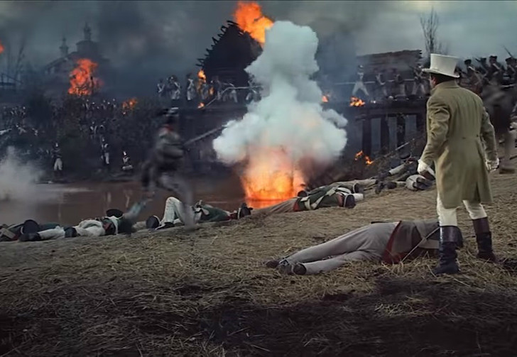 Фото №1 - Американский трейлер обновленной версии «Войны и мира» Бондарчука