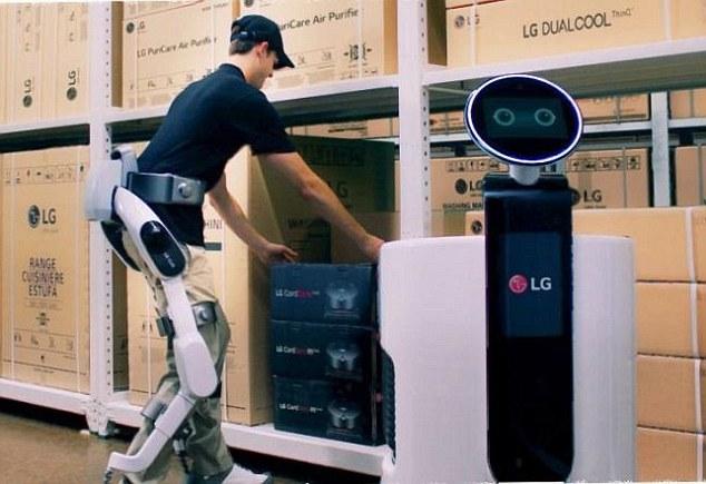 Фото №1 - LG выпустила модные робоштаны (видео)
