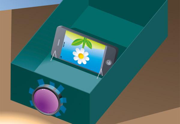 Как сделать проектор для телефона своими руками в домашних условиях 63
