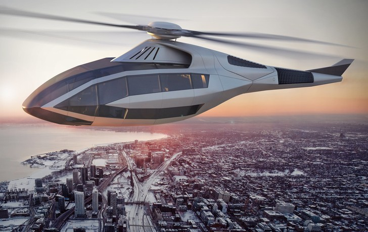 Фото №1 - Компания Bell построила вертолет будущего