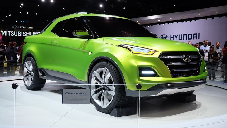 Фото №2 - Hyundai интригует концепт-пикапом Creta STC