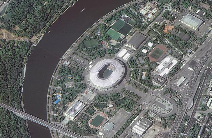 Фото №1 - ФОТОГАЛЕРЕЯ: Российские стадионы чемпионата мира со спутника
